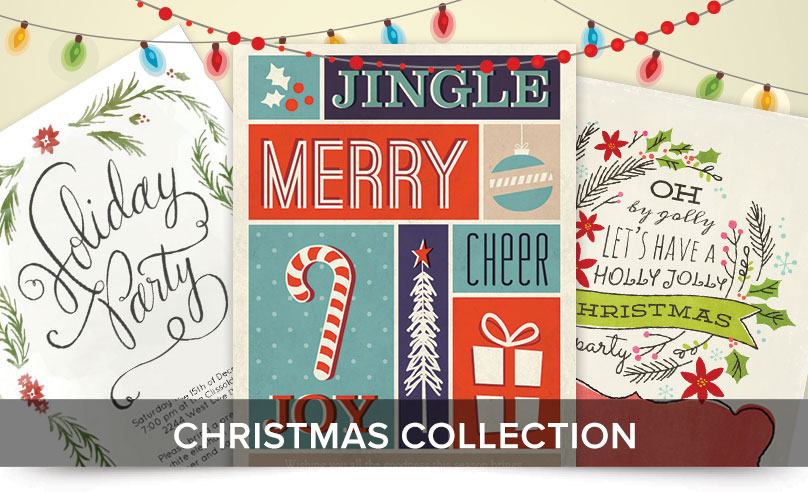 Christmas - Greetings, Invitations, Collages and Slideshows