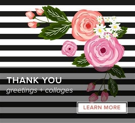 Thank You - Greetings and Collages