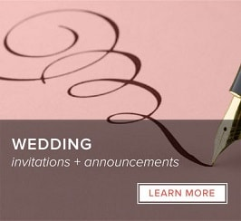 Wedding - Invitations and Announcements
