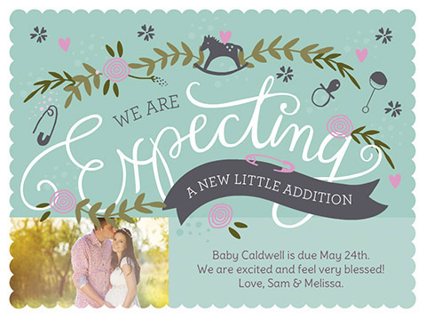We Are Expecting  -  Smilebox Pregnancy Announcement