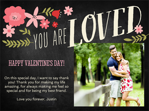 Valentine's Day greeting - You Are Loved