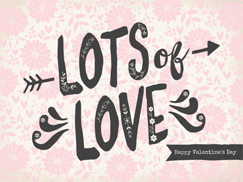 Valentine's Day slideshow - Lots of Love Floral