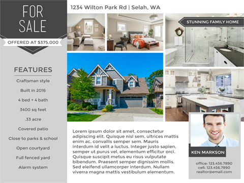 Real Estate flyer - Featured Listing
