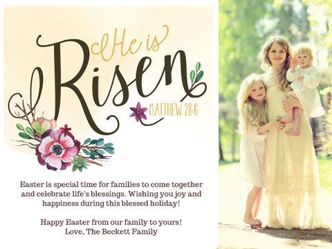 Easter greeting - Easter Sentiments